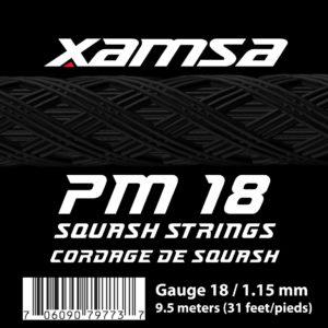 Xamsa PM 18 Squash Strings 9.5 meters